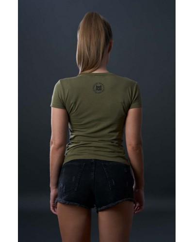 Bluzka w stylu militarnym