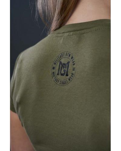 Bluzka damska w stylu militarnym