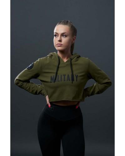 Bluza w stylu militarnym
