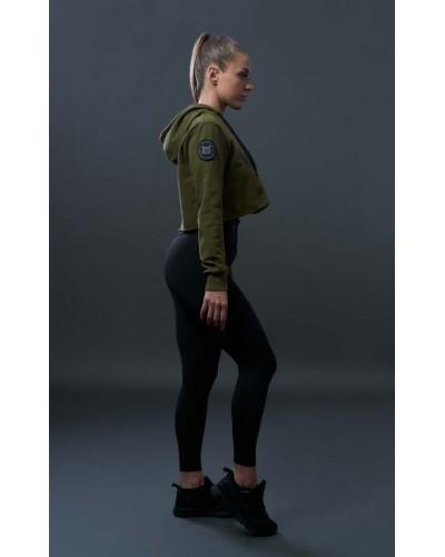 Bluza damska zielona militarna