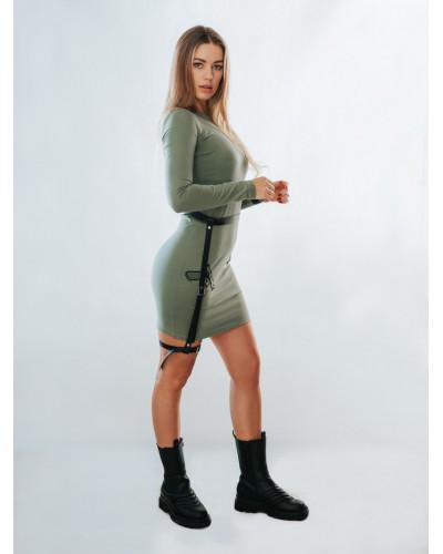Sukienka z kaburą