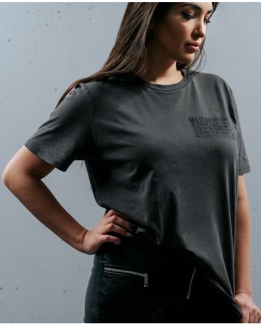 koszulka dla kobiet z efektem sprania