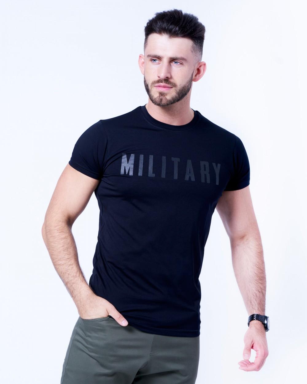 koszulka czarna Military